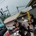 Bentrok ormas BPPKB vs Sapu Jagat di Sukabumi