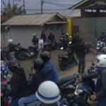 Bentrok ormas di Sukabumi