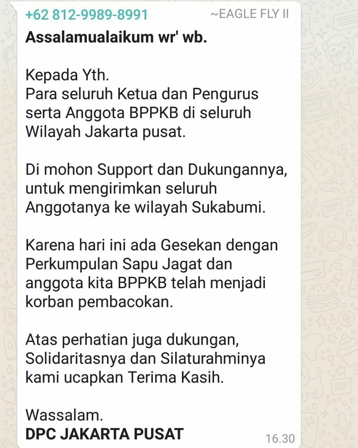 DPC BPPKB Jakarta Pusat