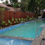 Foto kolam renang lebih Rp1 miliar di rumah dinas Ridwan Kamil (ist)