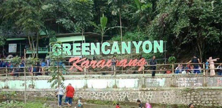 Green Canyon Karawang./Foto: Ega