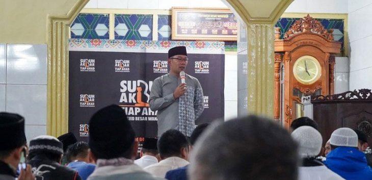 Gubernur Jabar Ridwan Kamil./Foto: Rmol