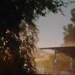 Hujan deras di Kota Bogor