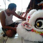 Pengrajin Barongsai di Bogor