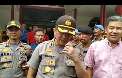 Polretabes Bandung menggelar sejumlah pengamanan di 13 vihara yang melaksanakan kegiatan Imlek.
