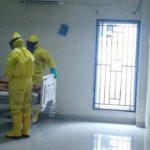 Ilustrasi pasien terserang virus corona (ist)