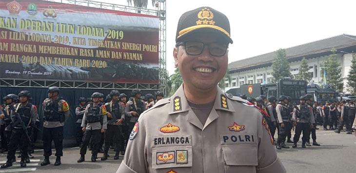 Kabid Humas Polda Jabar, Kombes Pol Saptono Erlangga Waskitoroso