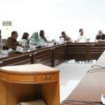 Komisi IV DPRD Kota Bogor saat RDP dengan para direksi RS