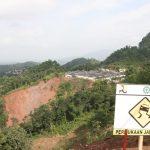 Lokasi rawan longsor di Sukajaya