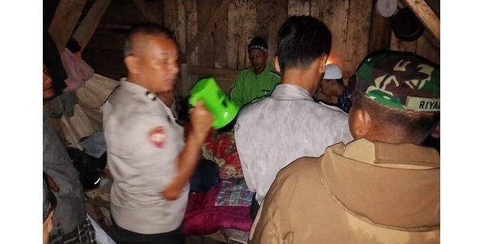 Pelaku NG yang tega membunuh ayah kandungnya karena lebih sayang istrinya (ist)