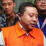 Saeful Bahri menggunakan rompi orange KPK (ist)