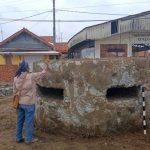 Salah satu bunker perlindungan tentara Jepang ditemukan di pantai Indramayu (ist)