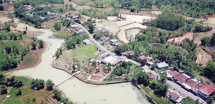 Situasi Objek wisata Situ Datarnangka yang berada di Kampung Cekdam RT 07/02 Desa Datarnangka, Kecamatan Sagaranten, Kabupaten Sukabumi.