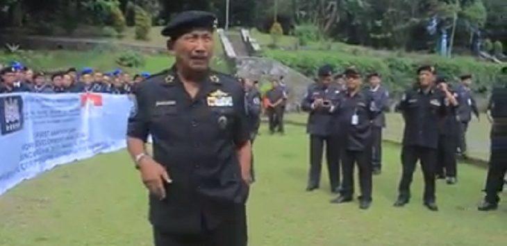 Screenshot video viral dari kegiatan Sunda Empire (ist)