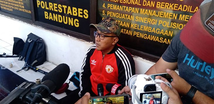 Tedy Kembali Datangi Polrestabes Bandung