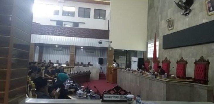 Agenda Rapat Paripurna DPRD Kabupaten Cirebon./Foto: Rmol
