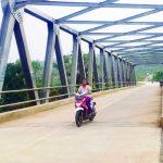 Akses jalan baru Ciherang-Parakan Purwakarta