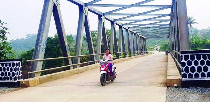 Akses jalan baru Ciherang-Parakan membuat warga semakin mudah dalam beraktivitas./Foto: Istimewa