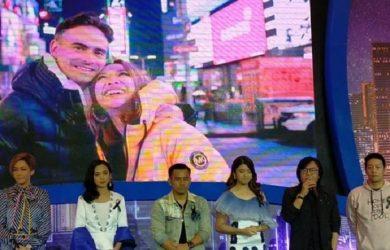 Ari Lasso dan keluarga besar Indonesian Idol mendoakan Ashra Sinclair dan Bunga Citra Lestari