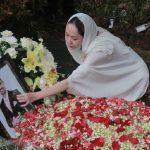 Bunga Citra Lestari di pemakaman San Diego Hill