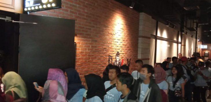 DAM gelar nonton bareng Milea Suara Dari Dilan bersama komunitas Honda Beat (ist)