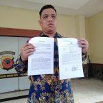 Laporan ke polisi dugaan kasus pemukulan oleh ketua ormas keagamaan Kota Bogor (adi)