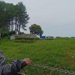 Lokasi pembangunan Noah's Park di kawasan Sesar Lembang