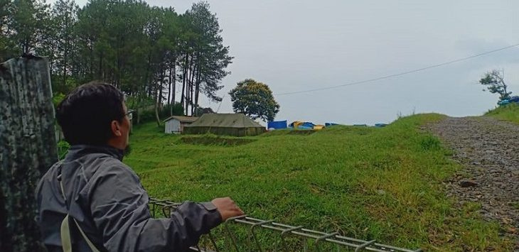 Lokasi pembangunan Noah's Park di kawasan Sesar Lembang./Foto: R,ol
