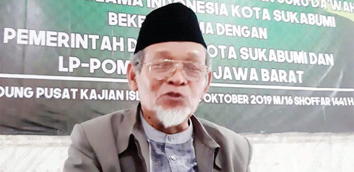 Sekretaris MUI Kota Sukabumi, Muhammad Kusoy