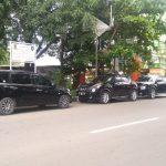 Parkir liar di Cirebon