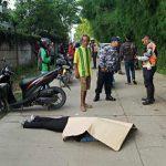 Pengendara Honda Vario yang terlindas truk di Sentul Babakan Madang (cek)