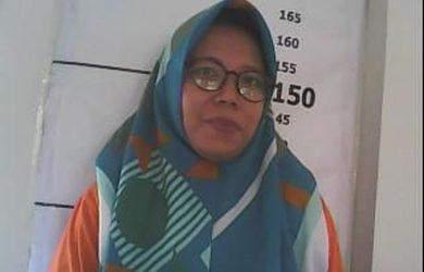Tahanan wanita yang kabur dari PN Bandung (ist)