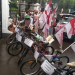 Warga Banyuwangi yang mendatangi Istana Bogor dan menyampaikan tuntutan pada presiden (adi)