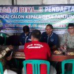 Banjir, Sekretariat Panitia Pilkades Desa Tanjungsari Numpang di Gudang