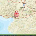 Gempa di Sukabumi yang terasa hingga ke Bogor pada Selasa sore (ist)