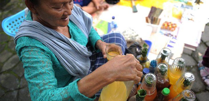 Penjual Jamu Gendong. Istimewa