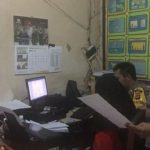 Pemeriksaan pelajar oleh polisi di Pangandaran