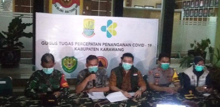 Plt Kepala Dinas Kesehatan Kabupaten Karawang, dr. Nurdin Hidayat./Foto: Ega