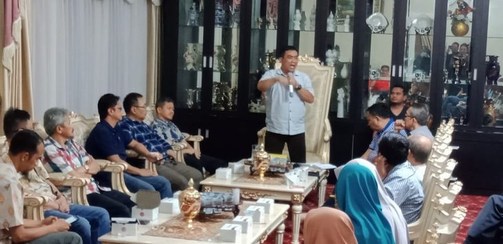 Walikota Cirebon Nashrudin Azis gelar pertemuan mendadak. Ist