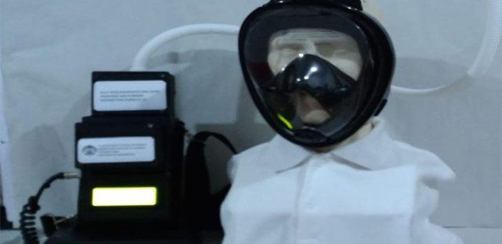 Tim ahli dan peneliti Universitas Indonesia mengembangkan prototype Alat Pelindung Diri (APD), dalam bentuk pelindung wajah.