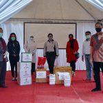 APD sumbangan anggota DPRD bagi tenaga medis Kota Bogor (ist)