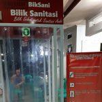 Bilik sanitasi atau disinfektan melawan virus Corona yang dibuat warga (ist)