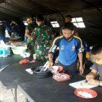 Dapur umum TNI-Polri di Kabupaten Karawang