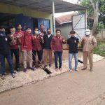 GMNI Bekasi dan Forset Semprot Disinfektan di Tamanrahayu