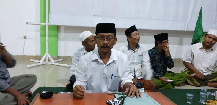 Ketua Tanfidziyah NU Kota Cirebon, M Yusuf. Dede