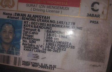 Korban terseret arus di Bandung