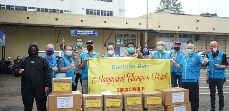 Masyarakat Tionghoa Peduli Berikan Bantuan Bagi Warga Kota Cimahi