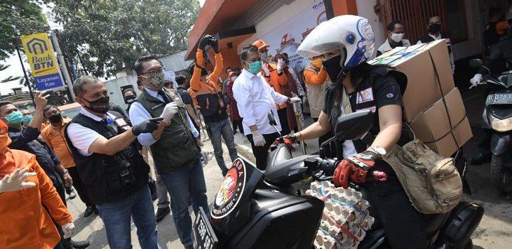 Pemkot Cimahi terima bantuan dari gubernur menjelang PSBB./Foto: Istimewa