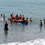 Pencarian korban tenggelam di Sukabumi
