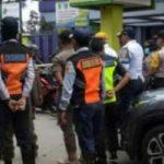 Penutupan jalan di Bogor